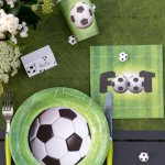 mini3 deco table anniversaire foot
