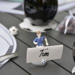 mini3 decoration table footballeur
