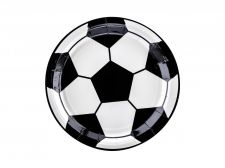 assiettes football 6 pieces