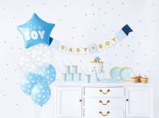 kit de decoration it s a boy bleu