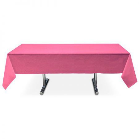 nappe fuschia intissee rectangle 15x3m anniversaire communion mariage fete feudartifice cotillons