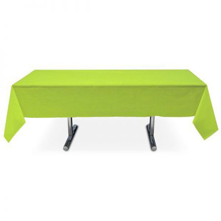 nappe vert intissee rectangle 15x3m anniversaire communion mariage fete feudartifice cotillons