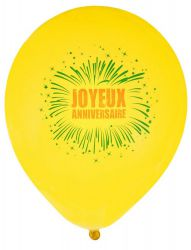 joyeux anniversaire fete rire amusement baudruche ballon gonfler impression jetable decoration promotion qualite theme 3
