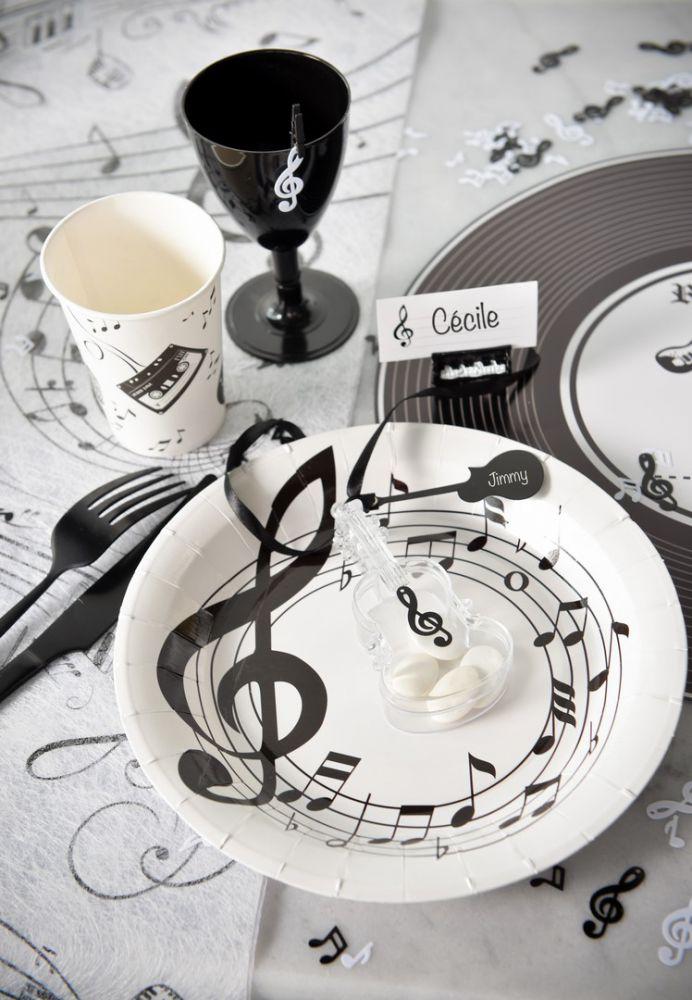 Assiette Musique
