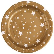 assiette decoration table fete ceremonie amusement etoile 10