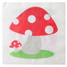 serviette assiette champignon boule verre disco facettes tenture plastique brillant mat serviette disco theme fete ceremonie table decoration