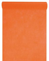 70001 12 orange chemin table decoration fete ceremonie invites couleurs ambiance