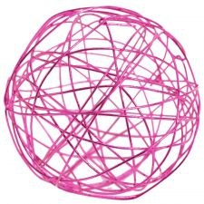 3592 15 fuchsia boule decoration metal table fete ceremonie