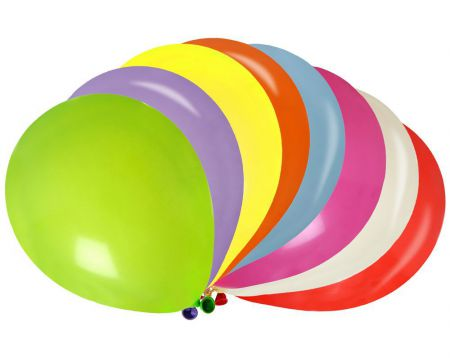 Ballon multicolore 100pcs