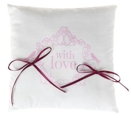 Coussin alliances With love R