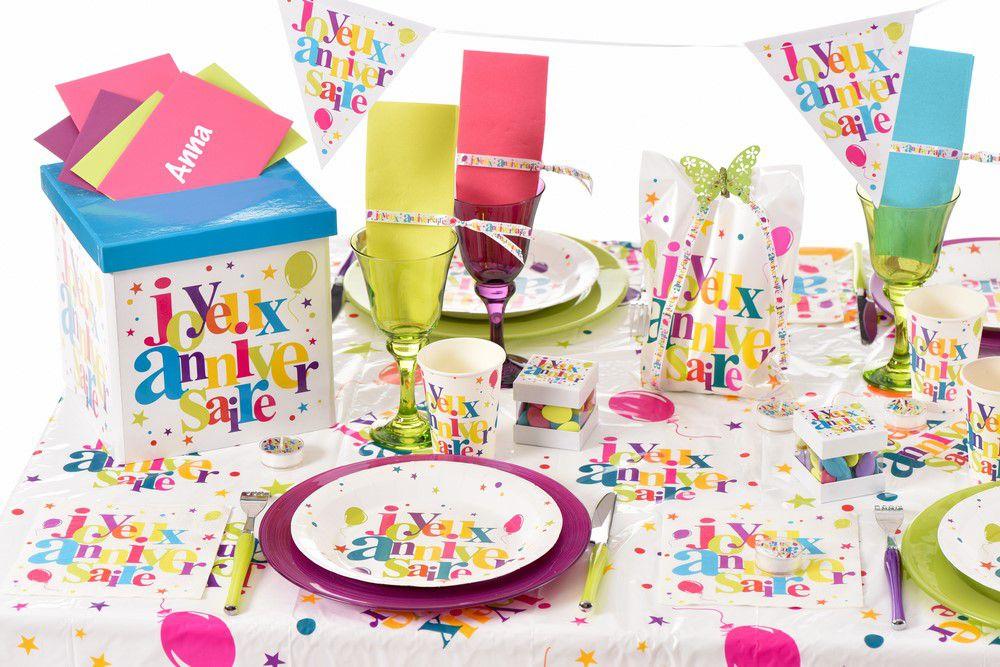 Deco Table Anniversaire Enfant #10: Charming Decoration Table Anniversaire Enfant #12: Top-fete.com
