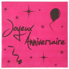 anniversaire serviette jetable papier solide couleur ceremonie decoration fete salle table 1