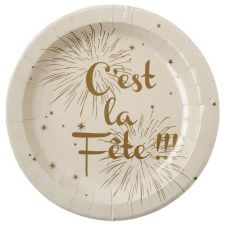 assiette fete theme decoration salle table 5