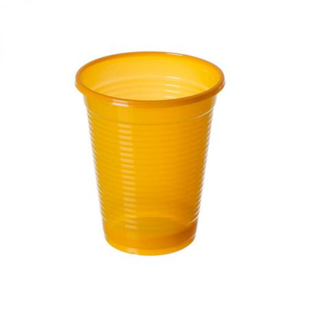 Verre Plastique Orange
