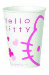 10 gobelets hello kitty 20 cl