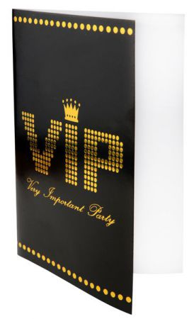 Carte Invitation VIP