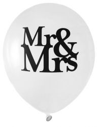 ballon de baudruche mr et mrs