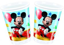 0006394 playful mickey cups top fete licence disney mickey pas cher