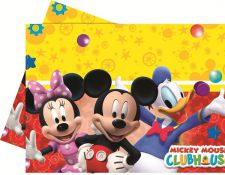 0006396 playful mickey tablecover top fete licence mikey mouse disney