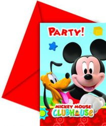 0006400 playful mickey invitations top fete licence mickey mouse disney