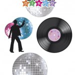 mini3 b00732 boland decoration anniversaire disco top fete