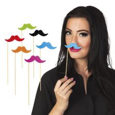 b30800 moustache decoration anniversaire boland fete top