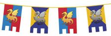 b44000 boland decoration anniversaire top fetedrisse knights dragons