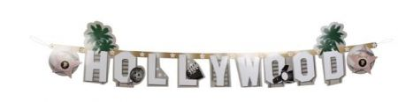 Guirlande lettre Hollywood