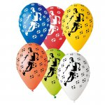 mini3 ballon deco foot