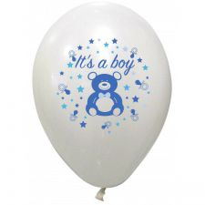 1251be ballon baudruche baby shower garcon