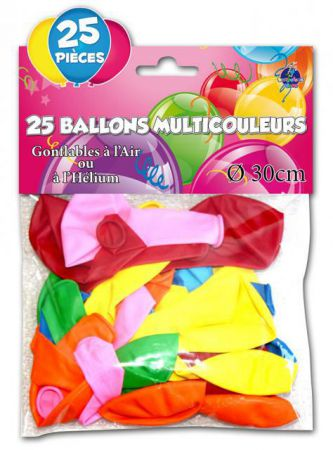 Assortiment Ballon Multicolore